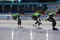 SCHAATSEN: HEERENVEEN: 21-06-2021, IJsstadion Thialf, ZOMERIJS, Topsporttraining, Team Reggeborgh, ©foto Martin de Jong