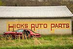 Tigert, KY Hicks Auto Parts editorial landscape.