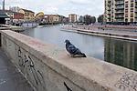 Milano, 25 marzo 2020 , Darsena <br /> Quarntena