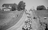 peloton swerving a bit<br /> <br /> st16: Morain-en-Montagne to Bern (SUI) / 209km<br /> 103rd Tour de France 2016