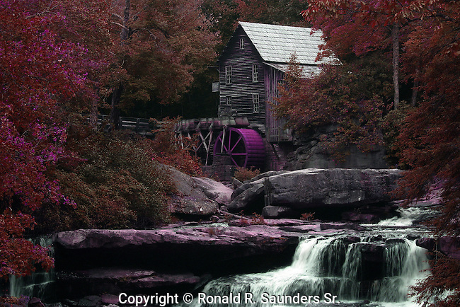 The Glade Creek Grist Mill is a new mill that was completed in 1976 at Babcock. Fully operable, this mill was built as a <br /> re-creation of one which once ground grain on Glade Creek long before Babcock became a state park. Known as Cooper's Mill, it stood on the present location of the park's administration building.<br /> (1)