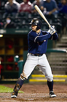 Tim Smith (24) of the Northwest Arkansas Naturals at bat during a game against the Springfield Cardinals on May 13, 2011 at Hammons Field in Springfield, Missouri.  Photo By David Welker/Four Seam Images.