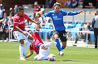 SAN JOSE, CA - APRIL 24: Cade Cowell #44 of San Jose Earthquakes moves with the ball during a game between FC Dallas and San Jose Earthquakes at PayPal Stadium on April 24, 2021 in San Jose, California.
