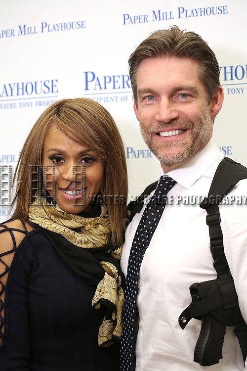 Deborah Cox and Judson Mills during the North American Premiere presentation of 'The Bodyguard' at The New 42nd Street Studios on November 10, 2016 in New York City.