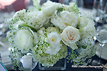 Gorgeous wedding bouquet and floral arrangements by McArdles at an elegant American Yacht Club, New York Wedding