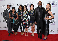 Grey's Anatomy Cast @ the 2017 People's Choice awards held @ the Microsoft theatre.<br /> January 18, 2017. Los Angeles, USA. # PEOPLE'S CHOICE AWARDS 2017 - PRESSROOM