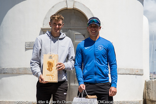 On their journey to Tokyo in July, Robert Dickson and Sean Waddilove were runners up in Cascais