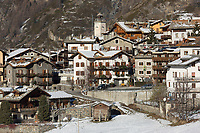 Italie, Val d'Aoste, Parco Nazionale del Gran Paradiso (Parc National du Grand Paradis), Cogne: Hameau d'Epinel //Italy, Aosta Valley, Parco Nazionale del Gran Paradiso (Gran Paradiso National Park), Cogne: Hamlet  Epinel