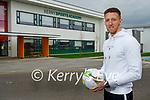 Damian Locke, who is the Munster Technological University's new Soccer Development Officer