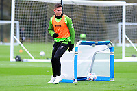 Kristoffer Peterson of Swansea City in action during the Swansea City Training at The Fairwood Training Ground in Swansea, Wales, UK. Wednesday 30 October  2019