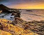 Granite Outcrop, Garrapata State Park, Big Sur, Monterey County, California