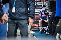 post race  interview with Tim Merlier (BEL/Alpecin-Fenix)<br /> <br /> 17th Dwars Door Het Hageland 2021<br /> One Day Race: Aarschot – Diest 18Okm (UCI 1.Pro)<br /> Bingoal Cycling Cup 2021<br /> <br /> ©kramon