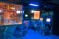 Combat Engagement Center, aboard the USS New Jersey (BB62), Camden Waterfront, Delaware River, New Jersey
