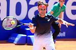 24th April 2019, Real Club de Tenis, Barcelona, Spain; ATP 500, Barcelona Open Banc Sabadell, day 3; picture show David Ferrer (ESP) vs Lucas Pouille (FRA)