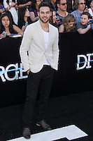 """WESTWOOD, LOS ANGELES, CA, USA - MARCH 18: Ryan Guzman at the World Premiere Of Summit Entertainment's """"Divergent"""" held at the Regency Bruin Theatre on March 18, 2014 in Westwood, Los Angeles, California, United States. (Photo by Xavier Collin/Celebrity Monitor)"""