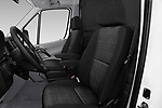 Front seat view of 2017 Mercedes Benz Sprinter Base 4 Door Cargo Van front seat car photos