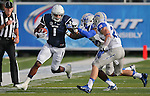 Brandon Wimberly runs for Nevada during the first half of an NCAA football game against Air Force, in Reno, Nev., on Saturday, Sept. 28, 2013. <br /> Photo by Cathleen Allison