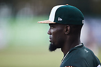 Hector Figueroa (23) of the Charleston Boiled Peanuts during the game against the Augusta GreenJackets at Joseph P. Riley, Jr. Park on June 26, 2021 in Charleston, South Carolina. (Brian Westerholt/Four Seam Images)