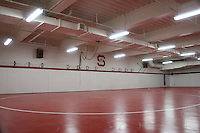 11 October 2005: Photographs of the Weintz wrestling room facility in the Arrillaga Family Sports Center in Stanford, CA.
