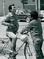 Arbeiter der Posco-Stahlwerke, Pohang, Korea 1986