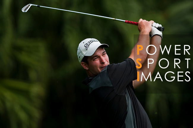 SHENZHEN, CHINA - OCTOBER 30: Fox Ryan of New Zealand in action during the day two of Asian Amateur Championship at the Mission Hills Golf Club on October 30, 2009 in Shenzhen, Guangdong, China.  (Photo by Victor Fraile/The Power of Sport Images) *** Local Caption *** Fox Ryan
