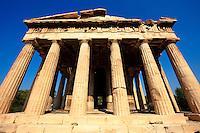Temple of Hephaestus, Agora of Athens, Greece