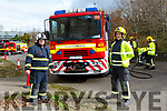 Denis Mangan Killarney who is training to become a fireman following in the footsteps of his father Paudie Mangan