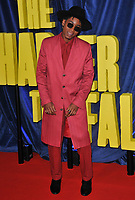 """Ronald """"RJ"""" Cyler at the 65th BFI London Film Festival """"The Harder They Fall"""" opening gala, Royal Festival Hall, Belvedere Road, on Wednesday 06th October 2021, in London, England, UK. <br /> CAP/CAN<br /> ©CAN/Capital Pictures"""