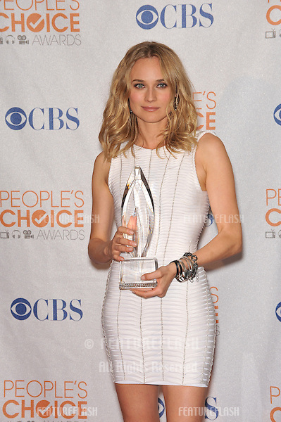 Diane Kruger at the 2010 People's Choice Awards at the Nokia Theatre L.A. Live in Los Angeles..January 6, 2010  Los Angeles, CA.Picture: Paul Smith / Featureflash