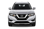 Car photography straight front view of a 2019 Nissan Rogue SV 5 Door SUV