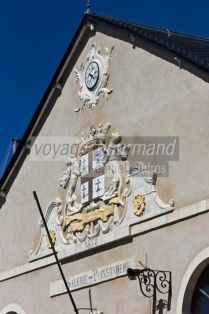 """Europe/France/Pays de la Loire/44/Loire Atlantique/Presqu'île Guérandaise/Le Croisic: Ancienne halle à marée - Détail //  France, Loire Atlantique, Le Croisic, old covered market """"Ancienne Halle a Maree"""" (1878), detail"""