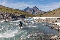 Alinement creek drainage, Brooks Range, Gates of the Arctic National Park, Alaska.
