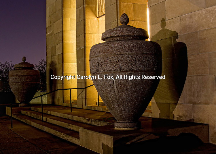 Liberty Memorial is a popular landscape spot in Kansas City, Missouri.