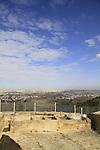 Israel, Jerusalem mountains, Nabi Samuel on Mount Shmuel, the stables