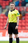 St Johnstone v Livingston….04.05.19      McDiarmid Park        SPFL<br />Referee David Munro<br />Picture by Graeme Hart. <br />Copyright Perthshire Picture Agency<br />Tel: 01738 623350  Mobile: 07990 594431