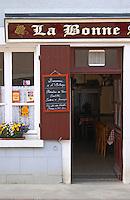 La Bonne Auberge restaurant. Chavignol, Sancerre, Loire, France