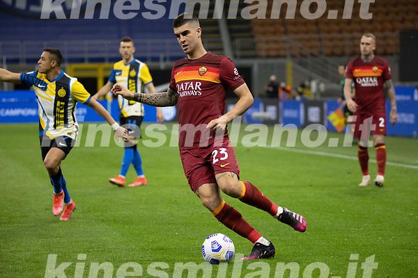 inter-roma - milano 12 maggio 2021 - 36° giornata Campionato Serie A - nella foto: mancini gianluca