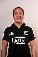 Fiao'o Fa'amausili. New Zealand Black Ferns headshots at The Rugby Institute, Palmerston North, New Zealand on Thursday, 28 May 2015. Photo: Dave Lintott / lintottphoto.co.nz