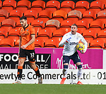 13.12.2020 Dundee Utd v Rangers: §Rangers keeper Allan McGregor enraged after a kick out from Ryan Edwards