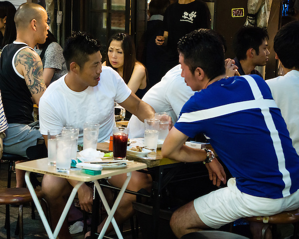 Going out for drinks is one of the favourite pastimes in Japan.
