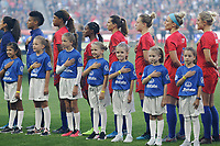 Saint Paul, MN - Tuesday September 03, 2019 : Player Honorees prior to the USWNT 2019 Victory Tour match versus Portugal at Allianz Field, on September 03, 2019 in Saint Paul, Minnesota.