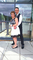 Pictured: Neil and Natasha Jex<br /> Re: Natasha Jex from Abedare has stabbed to death her husband Neil after a Christmas party in Wales UK.