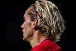 Antoine Griezmann of Atletico de Madrid reacts during the UEFA Champions League 2017-18 match between Atletico de Madrid and Chelsea FC at the Wanda Metropolitano on 27 September 2017, in Madrid, Spain. Photo by Diego Gonzalez / Power Sport Images