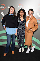 """Polly Walker, Maya Sondhi and Rochenda Sandall<br /> at the """"Line of Duty"""" photocall as part of the BFI & Radio Times Television Festival 2019 at BFI Southbank, London<br /> <br /> ©Ash Knotek  D3494  13/04/2019"""