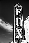 Sign for Fox Theater