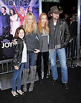 Billy Ray Cyrus and family at The Warner Bros. Pictures World Premiere of Joyful Noise held at The Grauman's Chinese Theatre in Hollywood, California on January 09,2012                                                                               © 2012 DVS/Hollywood Press Agency