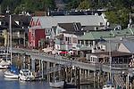 La Conner, Swinomish Channel,  Skagit County, Washington State,