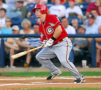 Drew Anderson of the Chattanooga Lookouts at the 2007 Southern League All-Star Game July 9, 2007, at Trustmark Park, sponsored by the Mississippi Braves, in Pearl, Miss. Photo by:  Tom Priddy/Four Seam Images