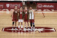 Stanford Volleyball M Senior Night, April 17, 2021