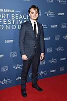 Dean Charles Chapman<br /> arriving for the Newport Beach Film Festival UK Honours 2020, London.<br /> <br /> ©Ash Knotek  D3551 29/01/2020